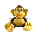 プラシ天の男の子のギフトのための着席のライオンのおもちゃ