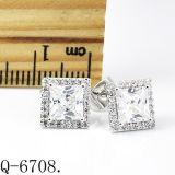 Brincos de diamante de alta qualidade Silver 925 Hotsale