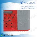Kit a energia solare ricaricabile di Whc 6V20W LED per accamparsi