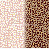 100%Polyester Leopard Pigment&Disperse druckte Gewebe für Bettwäsche-Set