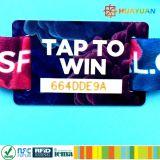 Musikfestival NTAG213 RFID gewebtes Armband NFC Armband
