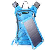 力バンクが付いている太陽バックパックを循環させる緑色旅行