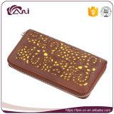 Бумажник застежки -молнии PU высокого качества бумажника женщин промотирования Fani более дешевый