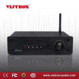 Mini-stéréo hi-fi Bluetooth caisson de basses amplificateur audio 2.1 canaux avec amplificateur de puissance 2 x 50 W, entrée Aux (connecteur jack 3,5 mm)