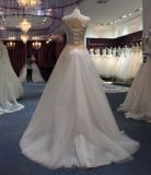 Eine Zeile Strand u. Zieleinheit 2 in 1 Hochzeits-Kleid