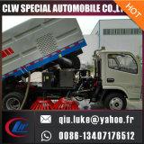 Camion 12ton de balayeuse de route de vide de Dfl 4X2