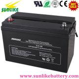 Batterie d'acide de plomb 12V120ah d'UPS de cycle profond solaire pour la télécommunication