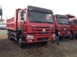 De Vrachtwagen van de Stortplaats van Cnhtc 371HP 6X4 met de Cabine van de Luxe