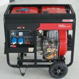 Bisonte (Cina) BS6500dce (H) 5kw 5kVA piccolo MOQ digiunano generatore diesel portatile a tre fasi dell'alternatore della saldatura di consegna