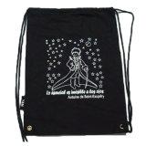 Nylon напольный полиэфир Backpack мешка Drawstring 210d