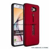 Cubierta del teléfono celular del diseño de la mezcla de TPU+PC para la prima de Samsung J7