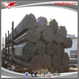 Tubo rotondo di vendita caldo del nero saldato ERW dell'acciaio dolce per costruzione