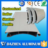 Obturateur électronique automatique à rouleaux Profil d'extrusion en aluminium avec revêtement en poudre