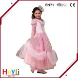 Kleid-Rosa-Kleid der Form-Prinzessin-Pink Wedding Stage Performance