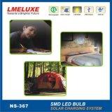Figura en sistema de iluminación solar tegrated para el hogar con LED Bombillas LM-367 (producto patentado)