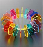 Het AcrylBlad van het Perspex van kosten (1 2 3 4 tot 50mm) PMMA MMA PS voor de AcrylOrnamenten van Kerstmis