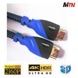 Câble de HDMI 2.0, Ethernet de supports, 3D, 4K@60p, arc et 2160p