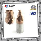 Aço de tungstênio carboneto CNC Fresa para HRC 55 grau