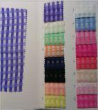 Tejido 100% poliéster y tejido de organza de tela para prendas de vestir