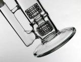 """Rokende Pijp 14.5 van het Glas van de Waterpijp van het Glas van Bong van het Glas van de Kooi van Bong van het Glas van boorplatforms In het groot Nieuwe Tweeling Ondergeschikte de """" Lange Dikte van 5mm"""