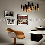 Europa Style Gold lâmpada pingente de ferro criativo para decorar o hotel