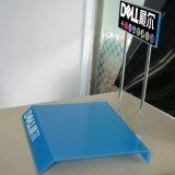 Présentoir acrylique bleu d'ordinateur portatif pour l'exposition ou la mémoire