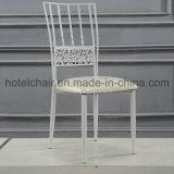 أبيض يتعشّى كرسي تثبيت معدن كرسي تثبيت ريفيّ لأنّ أسلوب حياة خارجيّ