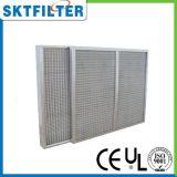 Filtro de ar do engranzamento do metal para o líquido de limpeza de ar