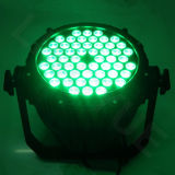 옥외 점화 54X3w RGB 3in1 동위 LED