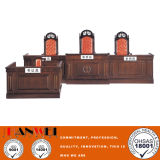 خشبيّة أثاث لازم محكمة أثاث لازم كرسي تثبيت وطاولة