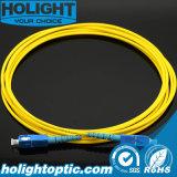 Оптически Sc соединительного кабеля к Sc симплексные однорежимные 3.0mm