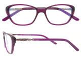 Nuovo modo Eyewear dei blocchi per grafici di vetro dell'occhio di gatto dei telai dell'ottica dell'Italia del blocco per grafici dell'acetato di arrivo