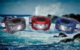 난조 어업 경고 Headlamp를 달리는 스포츠를 위한 명확한 Chell 최고 라이트급 선수 45g Ipx6 두 배 스위치 백색 XPE+2 빨간 LED AAA 5 최빈값 번쩍이는 Headlamp