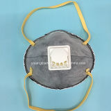 Máscara disponible del respirador de la seguridad del virus anti con el carbón y la válvula
