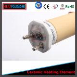 陶磁器の管状の発熱体