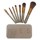Brosse de maquillage Nake d 5 7PCS/set Power Brush Professional composent le kit de brosse
