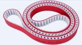 Bom anti-abrasão PU Flex Timing Belts revestido com borracha de alta resistência à tração