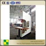 Sola máquina de la prensa hidráulica del C-Marco del brazo con el vector de trabajo movible