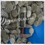 Maglia ampliata elettrodo di titanio platinata