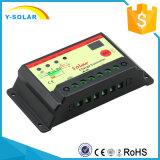 10A 12V/24Vの太陽街灯の料金のコントローラ15hoursのタイマー10ISt