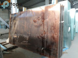 vidro de vidro colorido 5mm-10mm da cor-de-rosa do edifício do Topo da decoração (PC)