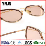 Óculos de sol bonitos por atacado das mulheres do olho de gato UV400 de Ynjn