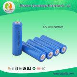 Fábrica recargable de la batería del Li-ion de la alta calidad 18650 3.7V 1200mAh