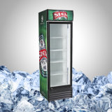 강직한 단 하나 유리제 문 음료 냉각기