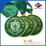 Медаль спорта меди серебра золота Antique медали волейбола с тесемкой