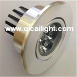 diodo emissor de luz Downlight do poder superior 3X1w
