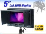 HDMIの入出力が付いているDSLR完全なHDのビデオ・カメラのための800x480 5インチLCDフィールドモニタ