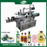 Máquina de etiquetado automático de la botella delantera y trasera