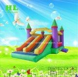 子供のための家の膨脹可能なコンボを跳ぶ幸せな党弾力がある城