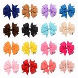 40 cores clipes de Arcos de fita grampo para cabelo da Menina
